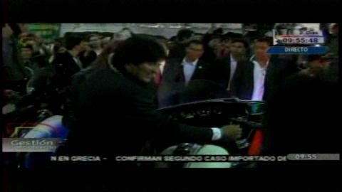 Presidente entrega motocicletas y equipos para fortalecer seguridad de Cumbre del G-77