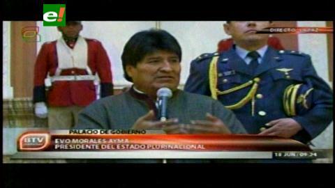 Presidente insta a Cámara de Diputados a elegir vocales del Tribunal Electoral de Santa Cruz