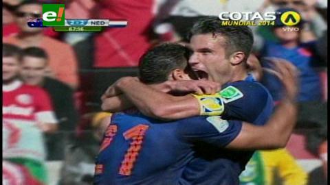 Holanda remontó el marcador y venció por 3-2 a Australia en Porto Alegre