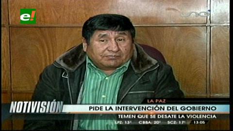 Choferes advierten posibles enfrentamientos en los bloqueos del norte de La Paz