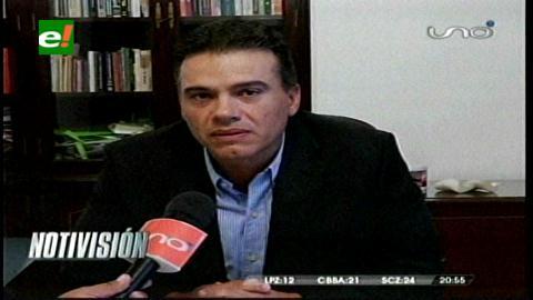 """Justiniano: """"Lo relevante no es conocer cuánta coca se siembra sino cuánta cocaína se produce en Bolivia"""""""