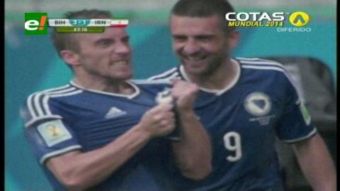 Bosnia derrotó Irán y clasificó a Nigeria a octavos de final