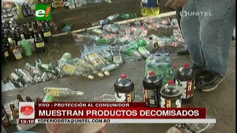 Operativos de salud pública en Santa Cruz: Destruyen productos vencidos