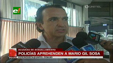 """Felcc aprehende a Mario """"Negro"""" Gil Sosa, acusado de financiar avasallamientos"""