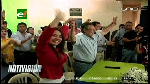 Proclaman en Santa Cruz al binomio Del Granado-Gil