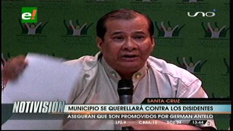 Alcaldía cruceña desmiente acusaciones y anuncia querella contra concejales disidentes