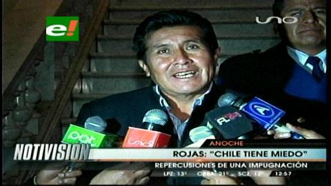 Senador Rojas considera que existe división interna en Chile sobre demanda marítima boliviana