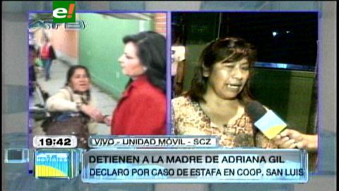 Madre de Adriana Gil es detenida acusada de estafa