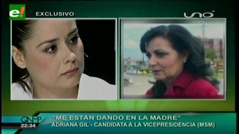 Adriana Gil rompe el silencio y habla sobre la detención de su madre