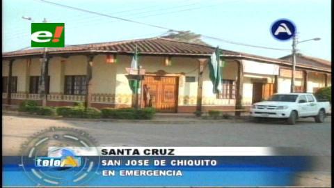 San José de Chiquitos en emergencia por regalías mineras