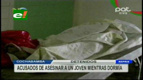 Cochabamba: Cae banda de adolescentes que mató a joven para robar su casa