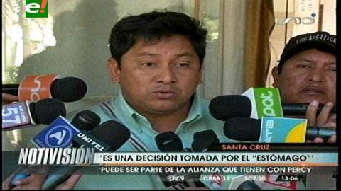"""Chávez dice que Cabrera se fue al MAS por """"la necesidad del estómago"""""""