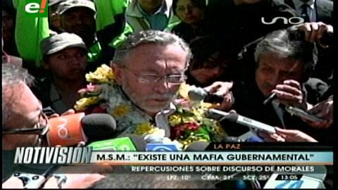 """Del Granado asegura que """"existe una mafia gubernamental"""""""