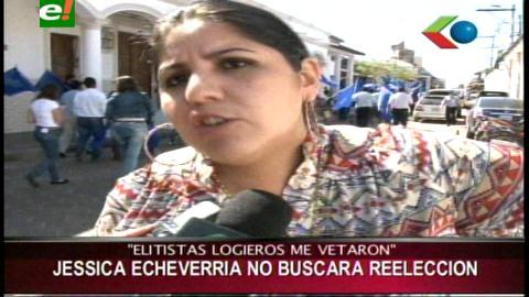 Diputada Echeverría da su respaldo al binomio Quiroga-Yarhui