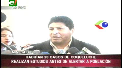 Ministro de Salud investigará denuncia de rebrote de coqueluche
