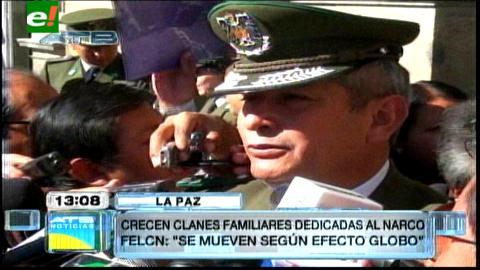 "FELCN advierte que narcotraficantes recurren al ""efecto globo"" para elaborar cocaína"