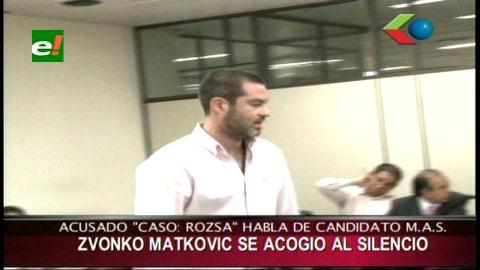 """Matkovic Ribera: """"Estoy preso hace mas de 4 años, ahora mi ex abogado es candidato del MAS"""""""