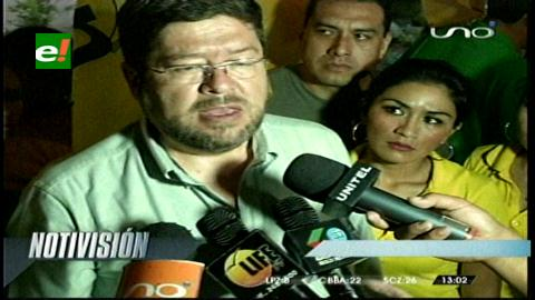Doria Medina denuncia campaña de Evo a través de empresas estatales