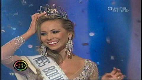 Miss Bolivia 2014 es Romina Rocamonje