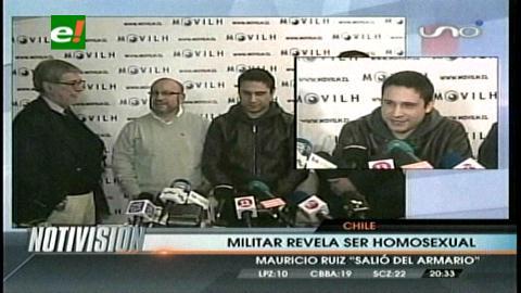 Chile: Militar asumió su condición de homosexual