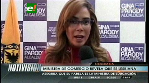 Colombia: Ministra de Comercio reveló que es lesbiana