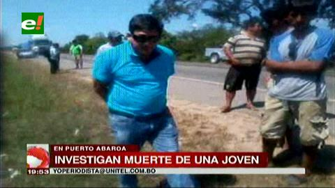 Continúan investigando la muerte de una estudiante en Yapacaní