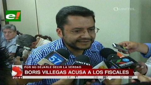 Villegas acusa a fiscales del caso terrorismo: Si quieren callarme que me maten