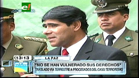Caso Terrorismo: Ministro Pérez asegura que no se vulneró los derechos de los imputados