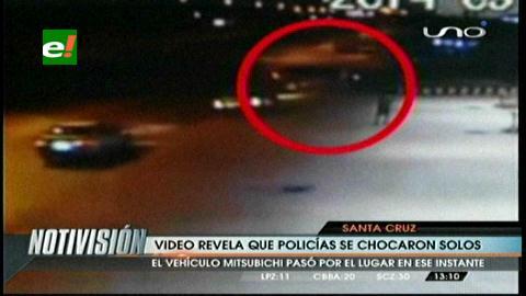 Santa Cruz: Video esclarece el choque con muerte de un policía de la UTOP