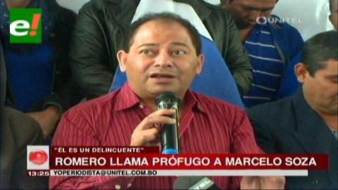 "Romero: ""Marcelo Soza se escapó a los brazos Marincovic"""