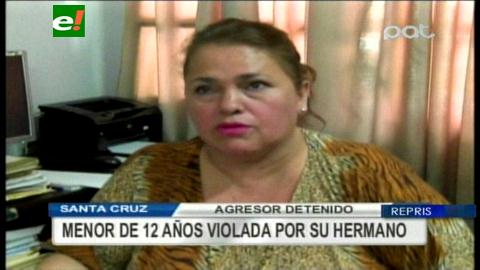 Violada y embarazada por su hermano mayor