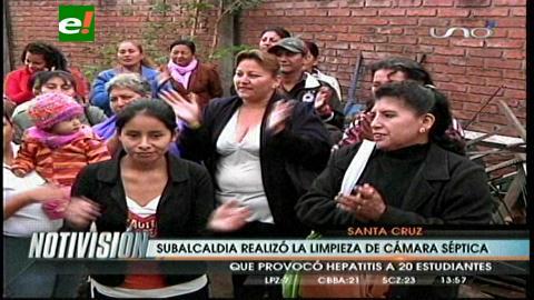 Reportan 20 niños con hepatitis en un colegio