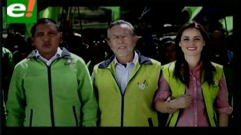 Primer spot de campaña de Juan Del Granado