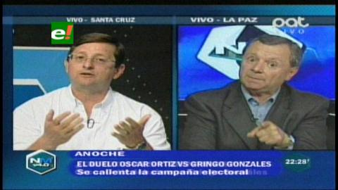 "Intenso debate entre Óscar Ortiz vs ""Gringo"" Gonzáles"