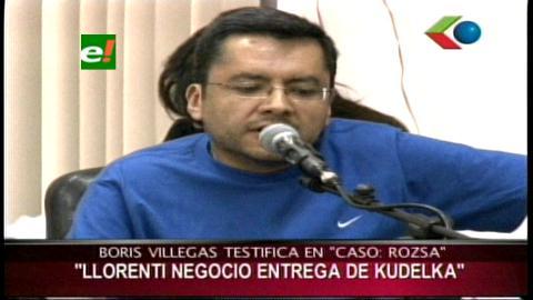 """Villegas: Sacha Llorenti tiene mucho que explicar sobre el caso """"Terrorismo"""""""