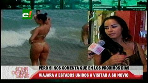 Maité Flores no estará en la Expocruz 2014