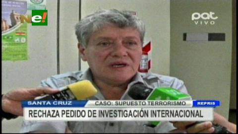 Caso terrorismo: Fiscales rechazan pedido de investigación internacional