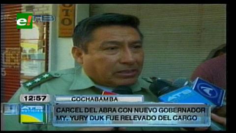 Remueven al gobernador y los policías del penal de El Abra