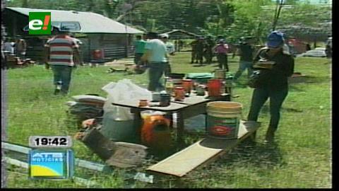 Desalojan 200 hectáreas avasalladas en Terebinto