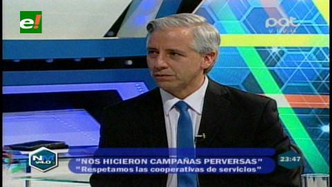 """García Linera: """"Mi obsesión es que Bolivia se convierta en una potencia continental"""""""