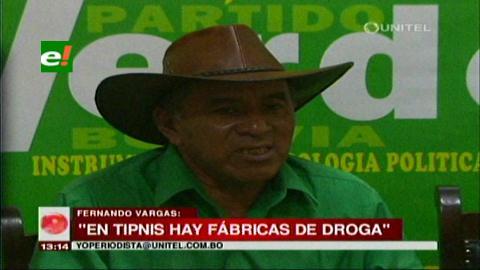 """""""En el Tipnis hay fábricas de cocaína y el Viceministro Cáceres lo sabe"""""""