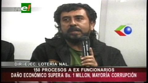 Lonabol sigue proceso a 150 ex autoridades por malos manejos administrativos y financieros