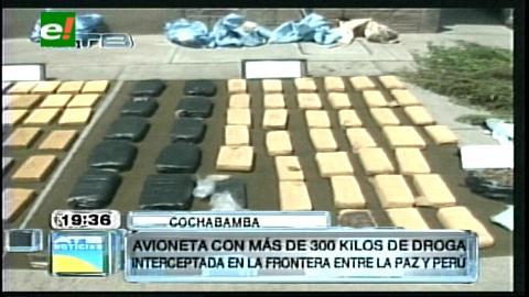 Cae otra narco avioneta con 300 kilos de cocaína en Ixiamas