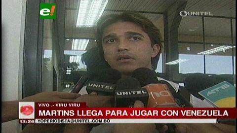 Marcelo Martins llegó para comandar el ataque