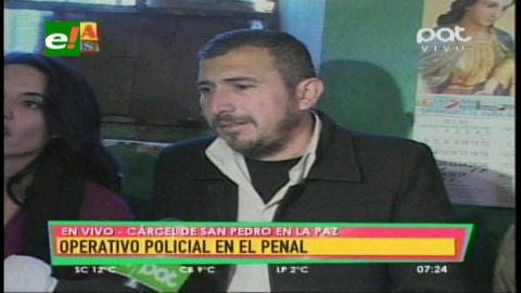 Requisa incauta 544 litros de bebida alcohólica en el penal de San Pedro