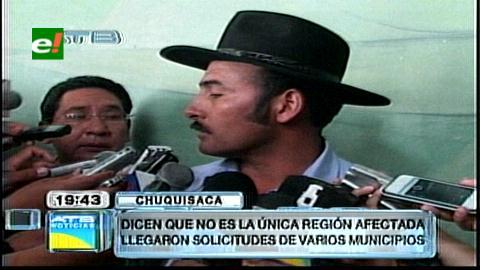 Chuquisaca declara emergencia por desastres naturales