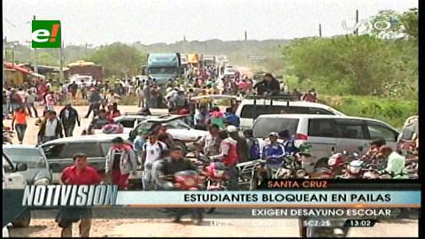 Ruta a Beni, expedita  tras bloqueo de padres