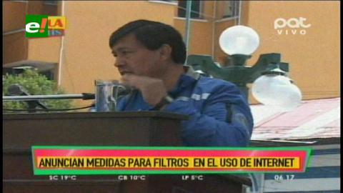Gobierno de Bolivia coordina con Google, Twitter, Facebook y WhatsApp el control de internet contra trata y tráfico