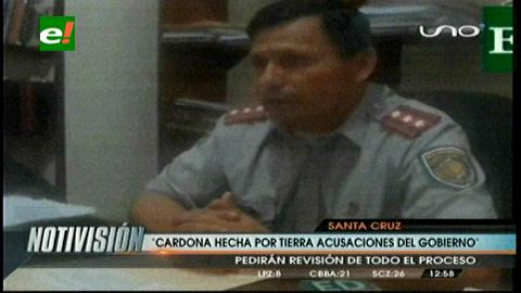 Caso terrorismo: Niegan montaje y atacan salud mental del coronel Cardona
