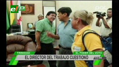 Beni: Cambio de horario en la Gobernacion enfrenta al Director del Trabajo con el Gobernador Lens
